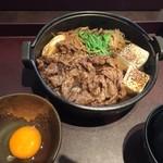 泰元食堂 - すき焼き定食