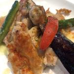 ブレッドガーデン - 若鶏の彩り野菜のグリエ