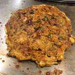 ねぎ焼やまもと - 料理写真:ねぎ焼きの牡蠣
