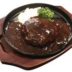 洋食酒場 GINZA-TEI - 肉汁ハンバーグ