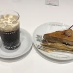 イノダコーヒ - ケーキセット