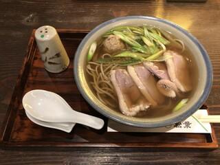 松葉 京都駅店 - 鴨なんばんそば