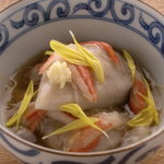 ヒドリ - 海老芋 から揚げ 蟹あん掛け