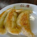 仁康 - 料理写真:餃子1個100円
