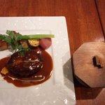 10052973 - <ランチ>ハンバーグとご飯