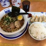 風風ラーメン - 料理写真:定食