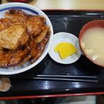 ぶた丼のとん田 - ロースぶた丼