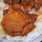 ぶた丼のとん田 - ヒレぶた丼(豚ヒレ肉)
