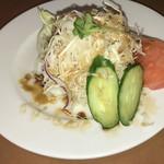 ツナパハ+2 - ランチセット(980円)のサラダ