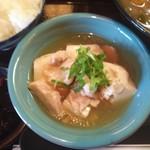 お多やん - 鳥豆腐