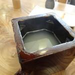 和か菜 - 蕎麦湯