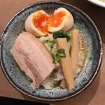 銀座 八五 - スープご飯にしました