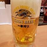 日高屋 - 生ビール2019.1.18