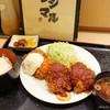 フジマル - 料理写真:2018年10月 海老カツ&ヘレカツ定食【1600円】