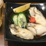 やきとり にしだ屋 - 生牡蠣