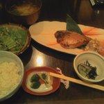 ごち屋 - めかじき生姜焼き定食