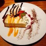 チーズ&フルーツバル espace - ブリードモーのチーズケーキ♪
