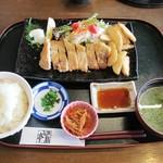 100538674 - 和風ポークソテー&白米・味噌汁セット