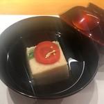 趣肴 あおき - 海老真丈のお椀