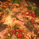 ヒロキ - 麺入りお好み焼きうどん