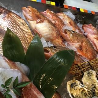 【鮮度に自信】社長自ら市場で買付!旬の鮮魚をお手軽に!!