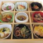 10054170 - エルムランチ・お料理9品