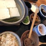 とうふや - 湯豆腐膳