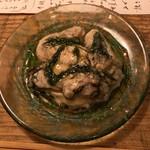 三人灯 - 赤穂産カキのマリネ