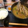 麺処 ふな井 - 料理写真:天なすカレーとごはん