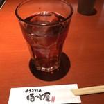 やきとりのほっと屋 - ドリンク写真:アイスウーロン茶 206円