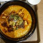想吃担担面 - 料理写真:汁有りの麻婆担々麺