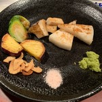 知喜多 - 焼野菜・2019/1