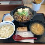 松屋 - 牛鍋定食