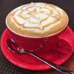 アンバーコーヒー - ドリンク写真:キャラメルカプチーノ