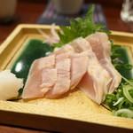 100556809 - 鶏炙り昆布締め