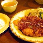 グリル&洋食 アガペ - ジャンボメンチカツセット