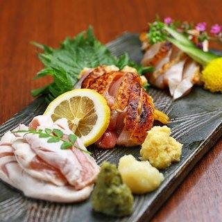 朝引き超新鮮な大和肉鶏◎