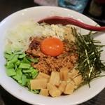 麺処 夏海 - 「赤羽まぜそばZ」(780円)