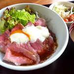 和の台所 鉄心堂 - ローストビーフ丼