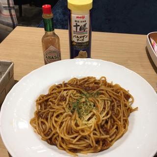 Cafe Renoir - ランチセット980円、ボロネーゼ