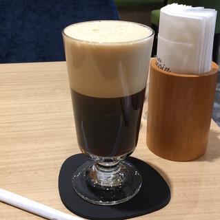 Cafe Renoir - ランチセット980円、コールドクレマコーヒー