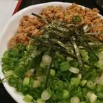 麺辰 - ミニ鶏そぼろ丼 180円