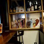 ベッカライ ベック - パンの本がたくさん