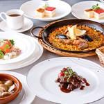 ~ルビコース~ 看板料理マッシュルームセゴビア風と5種のパエリアが選べるコース