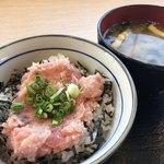 のっけ家 - ミニネギトロ丼500円