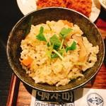 百々亭 - 混ぜご飯