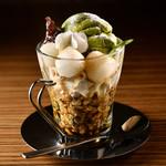 カフェ ランデヴー - 抹茶のサンデー
