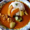 スパイス・ハーブ ROJY - 料理写真:スパイスロジィカレーセット880円(単品は730円)。