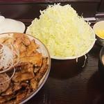 とんたん - 料理写真:豚丼セット