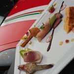 カフェレストラン ルシェッロ - 前菜盛り合わせ